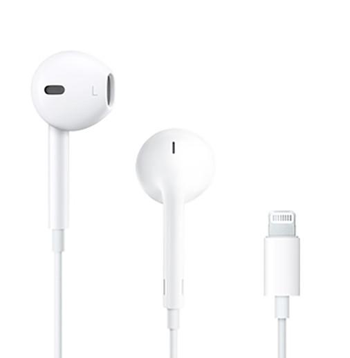 Original Apple EarPods mit Lightning-Anschluss A1748, MMTN2ZM/A mit Fernbedienung und Mikro