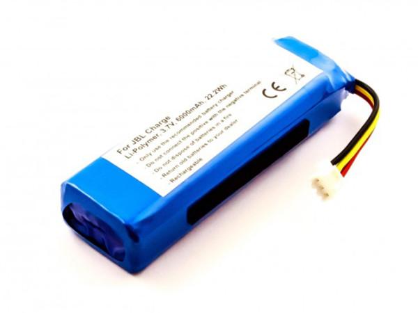 Akku für JBL Charge, Typ: AEC982999-2P, 6000 mAh
